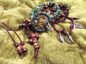 Boho Dreamcatcher Bracelet