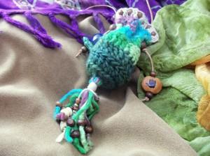 World Turtle Amulet Pouch