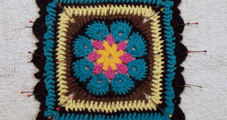 Granny Squares, Crochet Flowers, and Purses
