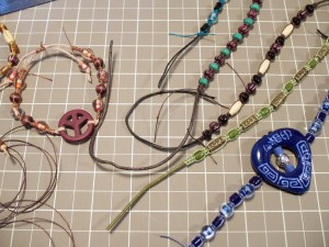 Bracelets in the works