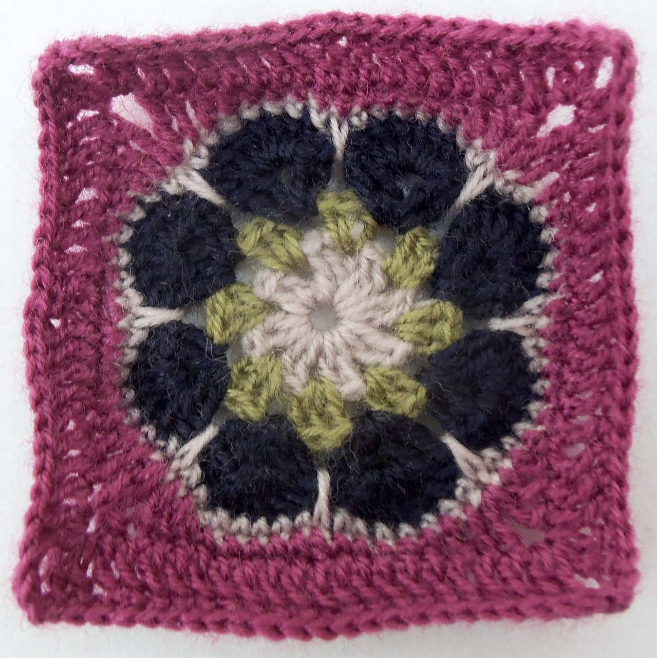 Granny-a-Day 8-11: Flowers and Fancy Squares | Deborah Lee Soltesz
