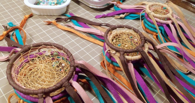 Dreamcatchers on the Workbench